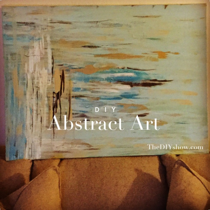 http://thediyshow.com/2015/03/01/diy-super-easy-abstract-art/