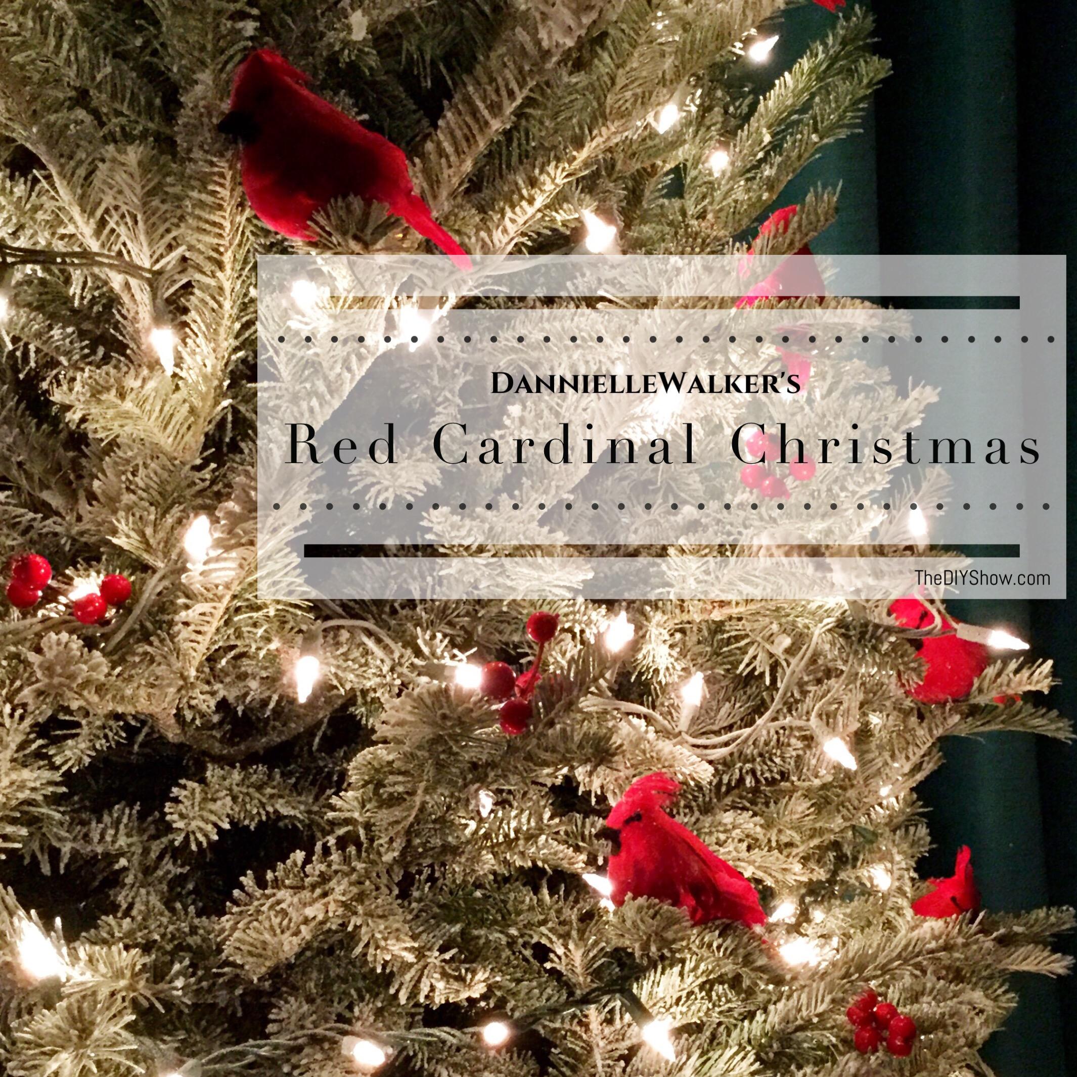 Red Cardinal Christmas Tree – TheDIYShow